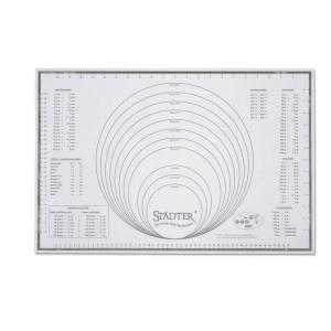Städter Silikonmatte ca. 60 x 40 cm weiß Unterlage Maxi (4018598256972)