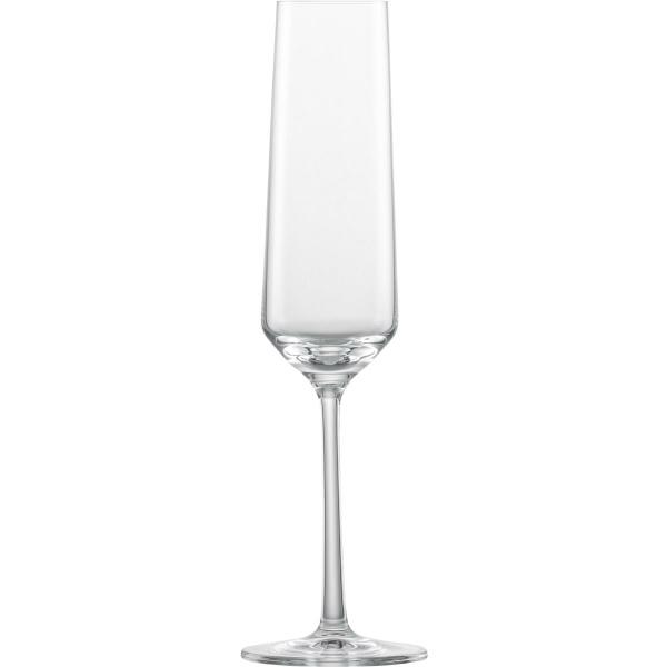 Zwiesel Glas Sektglas Pure mit Moussierpunkt (4001836019873)
