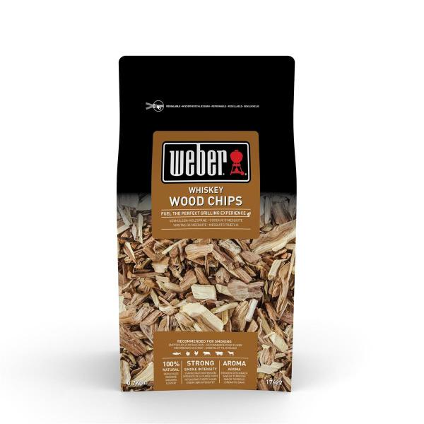 Weber Räucherchips Whiskey 700 g Zubehör (0077924039577)