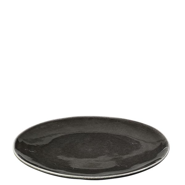 Broste Essteller Ø 26cm Nordic Coal (5710688118830)