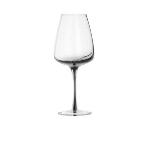 Broste Weißweinglas Smoke Clear/Grey Ø 8