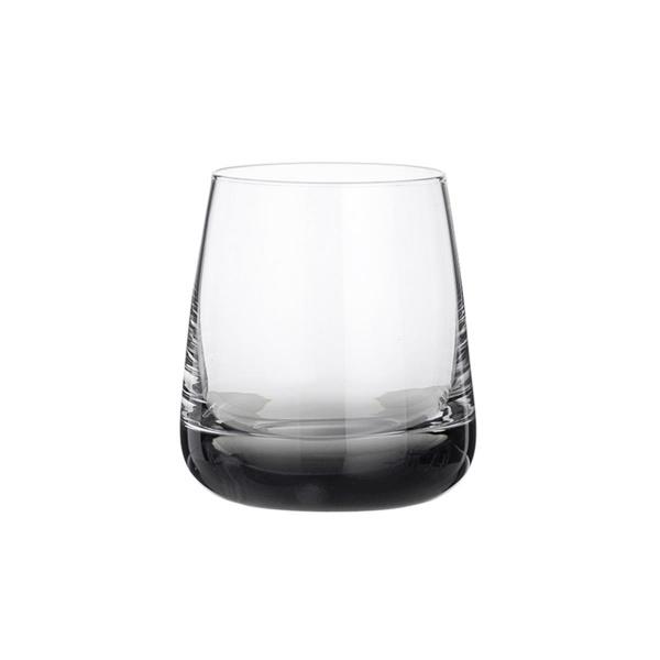 Broste Trinkglas Smoke Clear/Grey handgearbeitet; 350ml (5710688096954)