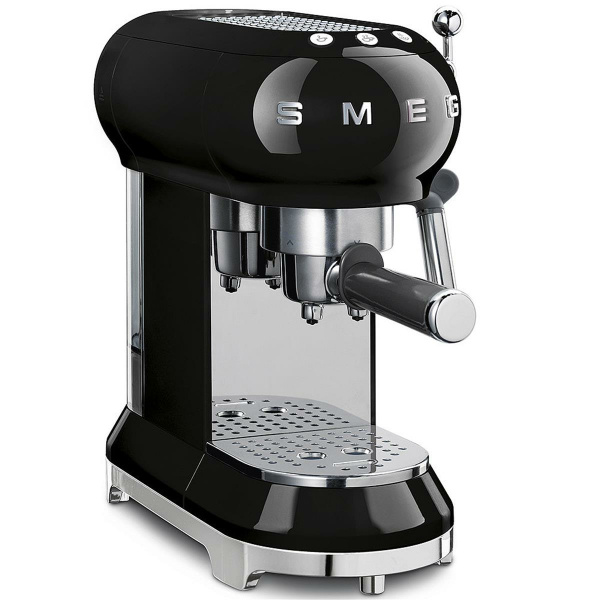 SMEG Espresso-Kaffeemaschine schwarz 50 Style (8017709229924)
