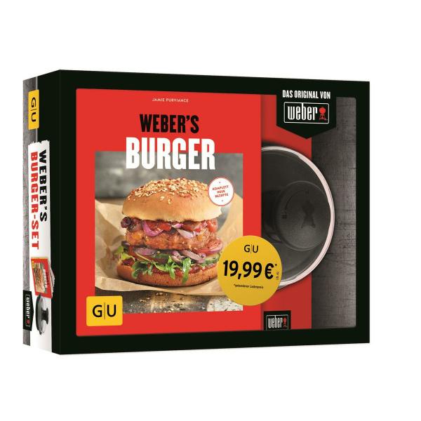 Weber Webers Burgerset Cookbook  (9783833867040)
