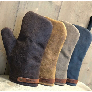 CRAFTED LEATHER & LIEFSTYLE Handschuhe schwarz Rustic Leather  ()