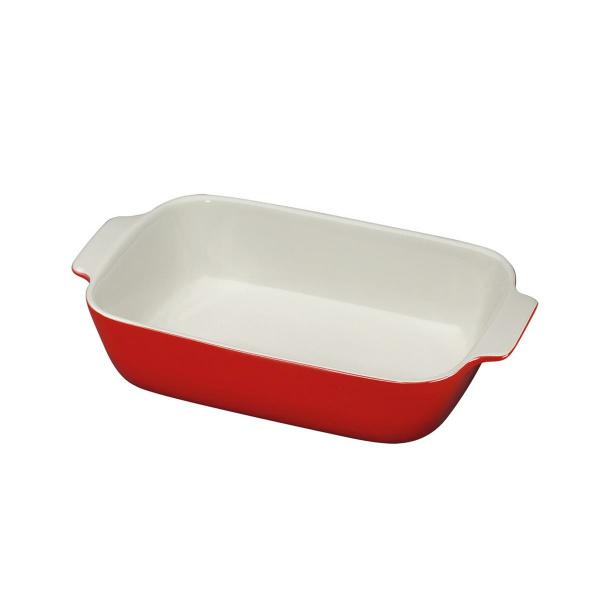 Küchenprofi 30cm Auflaufform rot rechteckig  (4007371068291)