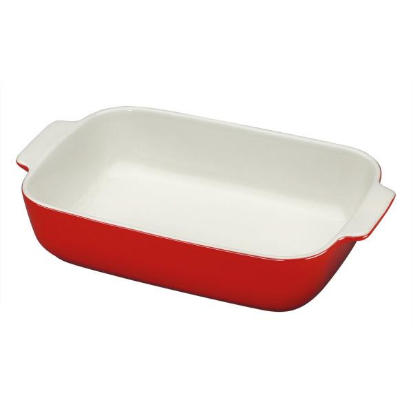 Küchenprofi 36cm Auflaufform rot rechteckig  ()