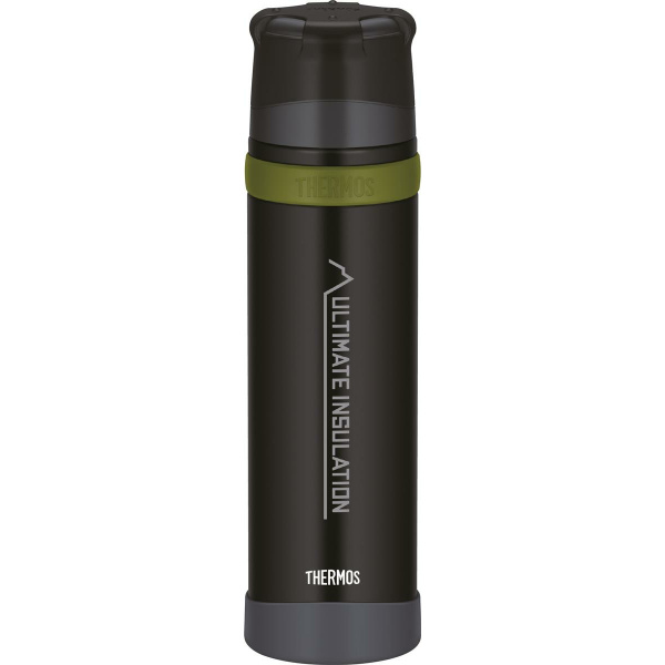 Thermos Isolierflasche MOUNTAIN charcoal black 0