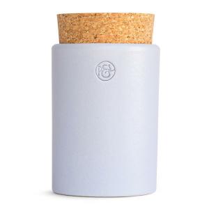 Pfeffersack&Söhne Keramikdose mit Korken taubenblau Ø 6