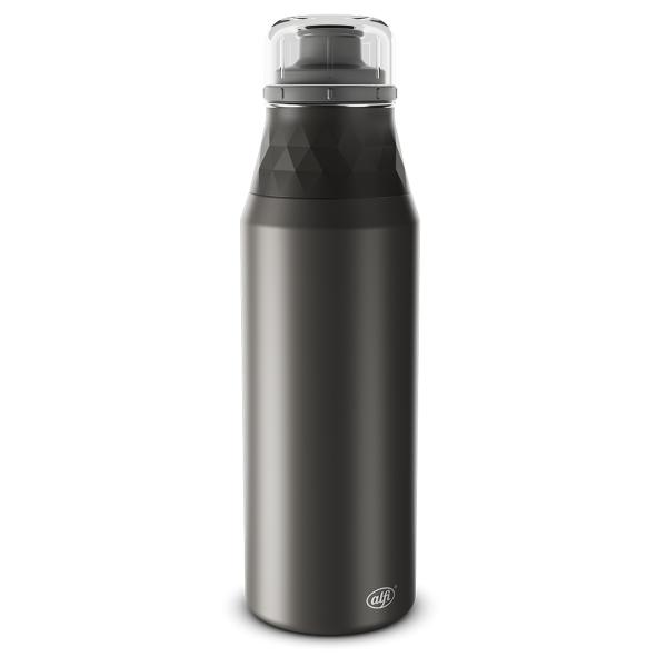 Alfi Trinkflasche cool grey/cav. black 0