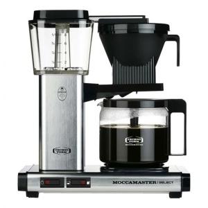 Moccamaster Polished Silver Kaffeemaschine KBG Select (8712072539709)