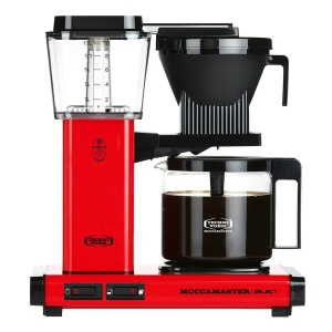 Moccamaster Red Kaffeemaschine KBG Select (8712072539884)