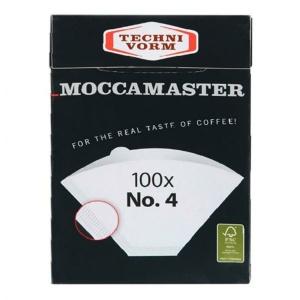 Moccamaster Filterpapier Nr. 4 (100 Stück)  (8712072850224)