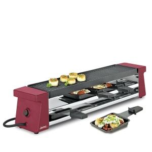 Spring Raclette 4 Compact rot mit Aluminiumplatte (4052356003361)