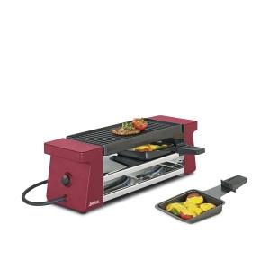 Spring Raclette  2 Compact rot mit Aluminiumplatte EU (4052356002104)